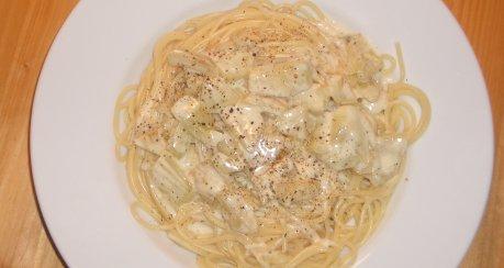 Fenchel-Mozzarella-Pasta