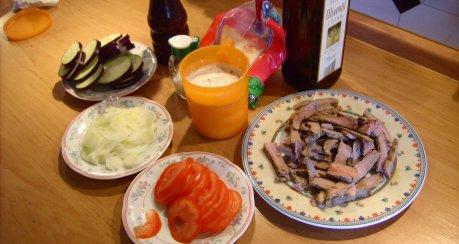 Kartoffelgratin (Resteverwertung)