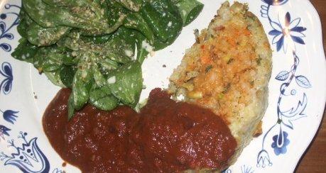 Feuriger Curry-Gemüse-Braten