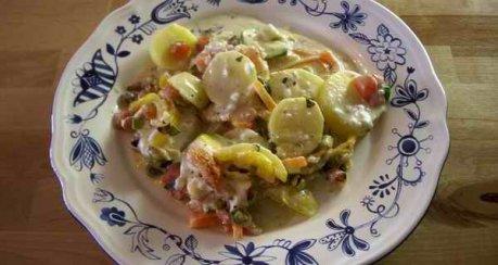 Kartoffel-Gemüse-Moussaka (Musakka)