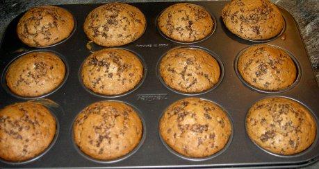 Schokoladen-Muffins, kinderleicht
