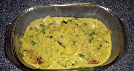 Putenschnitzel in Curry-Ananas-Sauce