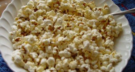 Fußball-Popcorn
