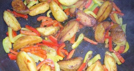 Spanische Röstkartoffeln