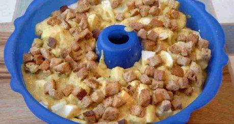 Blumenkohl mit Käse-Eier-Sauce