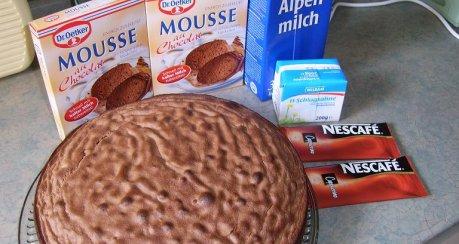 Mousse-au-Cappucino-Torte