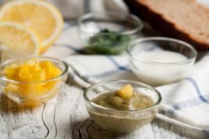 Zitronen Joghurt Dressing