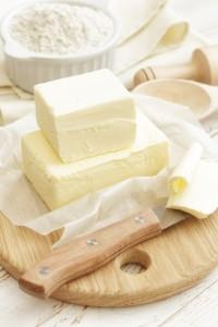 Butter Würfel