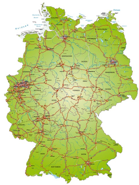 Kulinarische Landkarte Deutschland - Webkoch.de Ratgeber