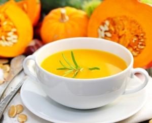 Gebundene Suppe