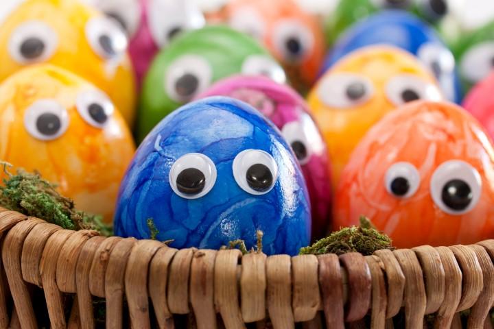 Bunte Eie