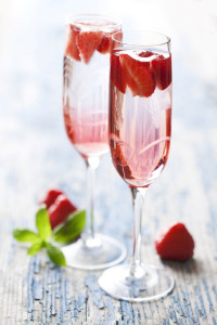 Erdbeer Champagner