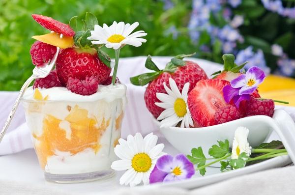 Essbare tischdeko ideen f r sommerliche partys tipps - Sommerliche tischdekoration ...